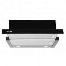 Вытяжка VENTOLUX GARDA 60 BK (1000) LED
